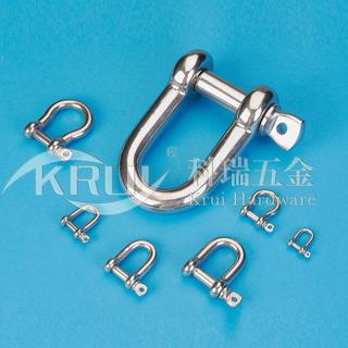 不銹鋼索具--D型卸扣系列
