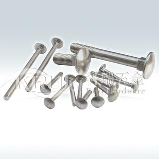 KR003-半圆头方颈螺栓GB12 DIN603马车螺栓