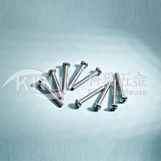 KR004不锈钢十字盘头机螺钉/GB818/GB820/DIN7985